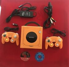 NINTENDO GAME CUBE JAP NTSC Orange limited + 2 joypad + 2 video games