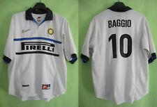 Maillot Inter Milan Baggio #10 Pirelli Nike Vintage Oldschool Jersey - M