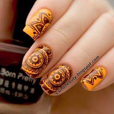 Born Pretty Nail Art Stamping Polish Dark Brown Nail Stamp Varnish 15ml #15