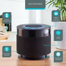 Zennox Amazon Echo Dot Smart Bluetooth 15W Speaker Booster Wireless Cordless NEW
