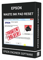 EPSON XP600 XP605 XP700 XP750 XP850 PRINTER WASTE INK PAD RESET ENGINEER KEY