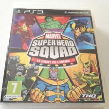 MARVEL SUPER HERO SQUAD THE INFINITY GAUNTLET PS3 PLAYSTATION 3 NUOVO SIGILLATO