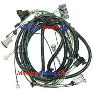 front end headlight wiring harness Chevy pickup truck blazer suburban 75 - 80