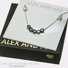 Authentic Alex and Ani Crystal Infusion Moonlight Swarovski Silver Bracelet