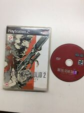 Playstation 2 Ps2 Metal Gear Solid 2 Sons Of Liberty