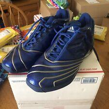 2002 Adidas TMAC II 2 T MAC Tracy McGrady Size 11.5 Royal Blue NBA All Star