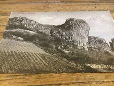 old Postcard Lion Rock Cheddar .