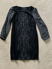 Ladies Dress Black M&S Collection Size 12