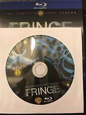 Fringe - Season 1 BLU-RAY, Disc 1 REPLACEMENT DISC (not full season)