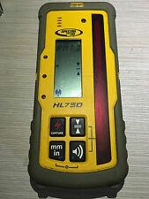 Trimble HL750 Spectra Precision Laser HL750 Laserometer Receiver W/O Rod Clamp