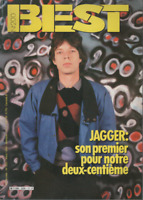 Magazine Best n° 200 Mick Jagger Phil Collins The Smiths Inxs W.A.S.P