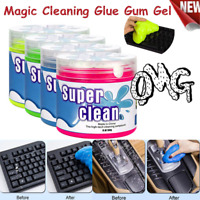 160ml Magic Soft Sticky Clean Glue Gum Silica Gel Car Keyboard Dust Dirt Cleaner