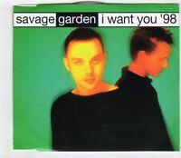 (GX9) Savage Garden, I Want You - 1998 CD