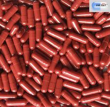 10000 Empty Gelatine Gelatin Swedish Red capsules size 2 size2  EU products