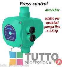Press control Pressostato elettronico pompa autoclave pressione 1,5 BAR