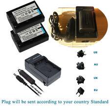 2 Batteria + Caricabatteria per Sony NPFV 70 NP-FV50 NP-FV70 FDR-AX33 FDR-AX53 FDR-AX100