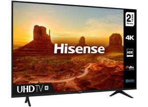 "Hisense A7100F 55A7100FTUK TV 139.7 cm (55"") 4K Ultra HD Smart TV Wi-Fi Black -"