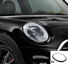 Original MINI JCW Black-Line Scheinwerfer-Zierringe schwarz 2355791 + 2355798