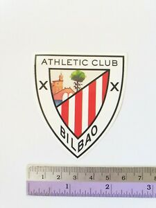 ATHLETIC CLUB BilBao Premier League Soccer Teams Logo Sticker Football Sticker