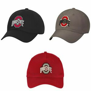 Ohio State Buckeyes Cap Adjustable Hat by Fan Favorite '47 in Team Colors