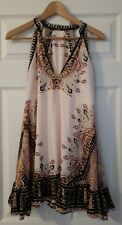 NwT Free People Steal The Sun Printed Halter Dress Size Extra Small