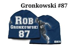 New England Patriots Rob Gronkowski Beanie (NEW) NFL Hat Toboggan Stretch