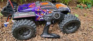 Traxxas E-Revo 2.0 VXL Brushless RTR Monster Truck - RPM, Hot Racing, Proline