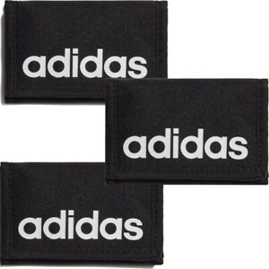 Adidas Wallet Essentials Logo Tri Fold Money Card Holder Wallets Zip Pocket