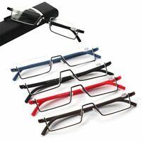 - des lunettes la moitié de section lecteur de lunettes des lunettes de lecture