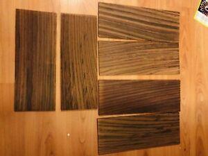 2 X Indian Rosewood Veneer Guitar Head-plate Headstock for luthier