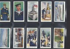 More details for lambert & butler - interesting customs, navy, army & raf - full set of 50 cards