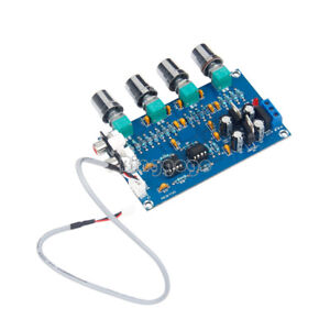 12V 2.0 preamp Stereo HIFI NE5532 Tone Board Preamplifier Dual op amp New