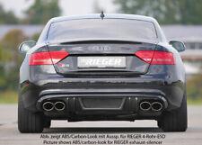 Rieger CUP Diffusor für Audi A5 B8 S5 S-Line Sportback Heckansatz Ansatz