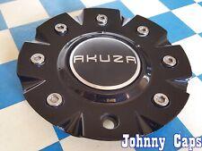 AKUZA Wheels [65] GLOSS BLACK Center Cap # EMR0843-CAR-CAP / PCW3B-60  (QTY. 1)