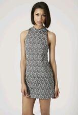 Topshop Womens Paisley Print Tunic Dress, Size UK 8