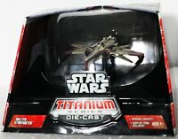 HASBRO TITANIUM SERIES STAR WARS ARC-170 STARFIGHTER - IN DOME DISPLAY CASE