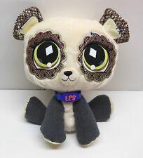 The Littlest Pet Shop Panda Bear Stuffed Plush Toy 2007 Hasbro VG Cond FAST SHIP
