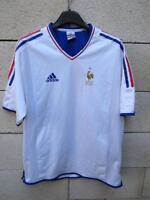VINTAGE Maillot Equipe de FRANCE féminine Adidas shirt stock pro double couche M