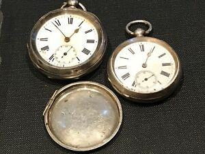 Pocket watch's solid silver