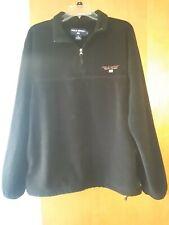 Polo Sport polartec Fleece Black Pullover XL