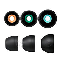 3 Pair Silicone Earbuds S/M/L Headphones Ear Tips Earpieces For SONY Earphones