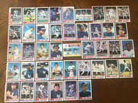 1982 NEW YORK YANKEES Topps COMPLETE Team Set 42 Cards JACKSON GOSSAGE WINFIELD!