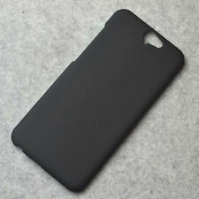 For HTC One A9 Black Snap On Matte Rubberized Hard case cover