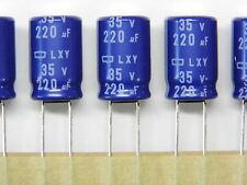 LOT 2 CONDENSATEURS CHIMIQUES AXIAUX -55 à +125° 100µF PRORELSIC125 63V