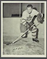 1945-54 Quaker Oats Photos Toronto Maple Leafs #24B Bill Judza/Away Action