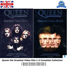 Queen the Greatest Video Hits Season 1-2 Complete Collection +Bonus Material DVD