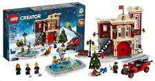 Lego Creator winter Village 10263 fire station new lot2