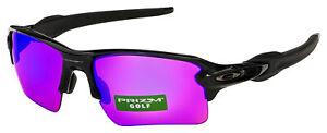 Oakley Flak 2.0 XL Sunglasses OO9188-05 Polished Black | Prizm Golf Lens