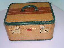 Rare Vintage LUTTMAN'S  California LUGGAGE suitcase vanity case