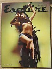 Esquire magazine August 2011 Abbey Abigail Clancy Aloe Blacc David Hasselhoff